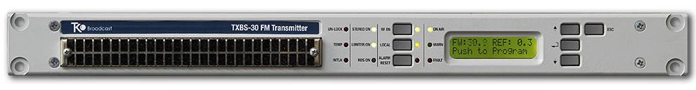 Émetteur FM Exciter à bas prix Stéréo 88 108Mhz SYNAPSE 30W 990