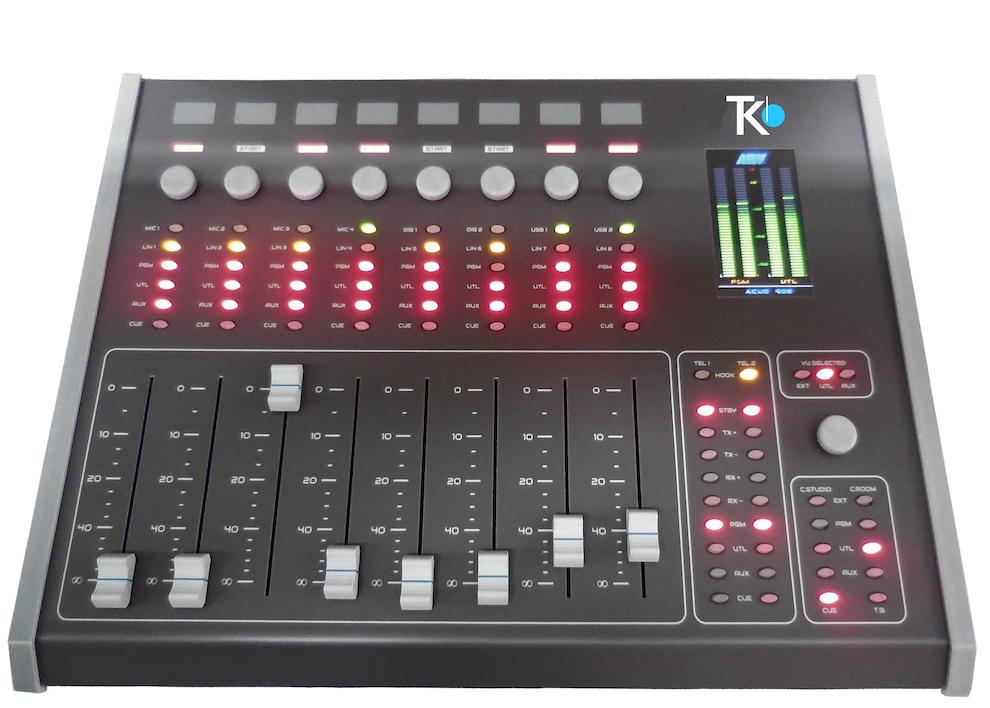 Acou908 consol mixage de audio teko broadcast