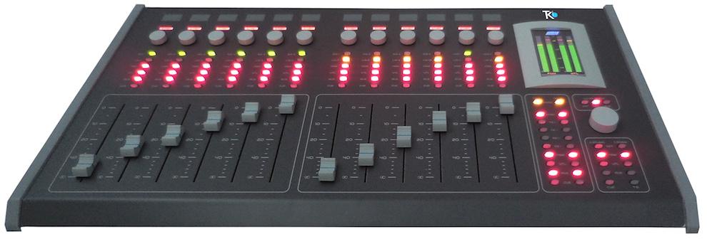 Acuo912 console mixage de audio teko broadcast