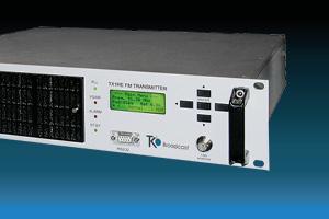 Transmetteurs AXON FM - Vente aux stations de radio commerciales et communautaires - Modulation de fréquence 88 à 108 MHz - 30 à 500 watts - 1 et 2 kilowatts - Analogique stéréo