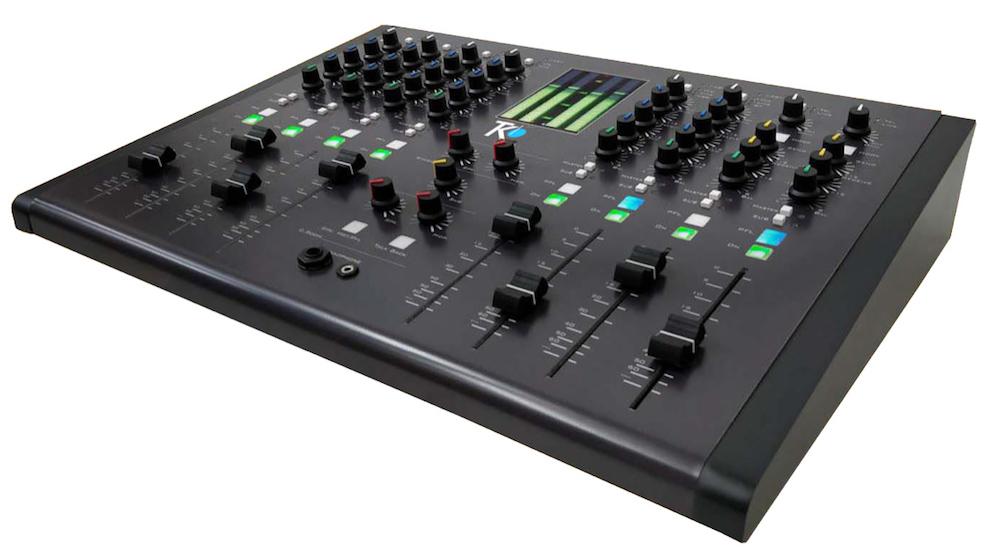 M8 console mixage de audio