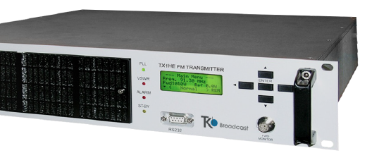 AXON 1KW is an Audio High Fidelity Stereo or MPX FM Transmitter, his Natural Warm sound highlights the quality of your signal. Options available: OIRT & JAPAN Bands WEB TCP/IP Telemetry-Dinamic RDS Options