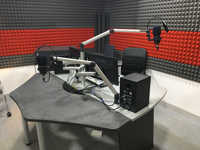 Radio studio paquets studio elite teko broadcast