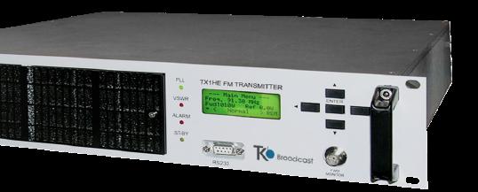AXON 1000W es un transmisor FM audio de alta fidelidad estéreo o MPX. El sonido cálido natural resalta la calidad de su señal. Opciones disponibles: OIRT & JAPAN Bands, WEB TCP / IP, Telemetry, Dinamic RDS