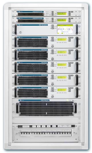 CORTEX 10KW/5 Transmisor FM-Es un Enfriado a Aire Alta eficiencia  Estereo Analogo & Digital DDS  Modulación de frecuencia Profesional Equipo de estación de radio