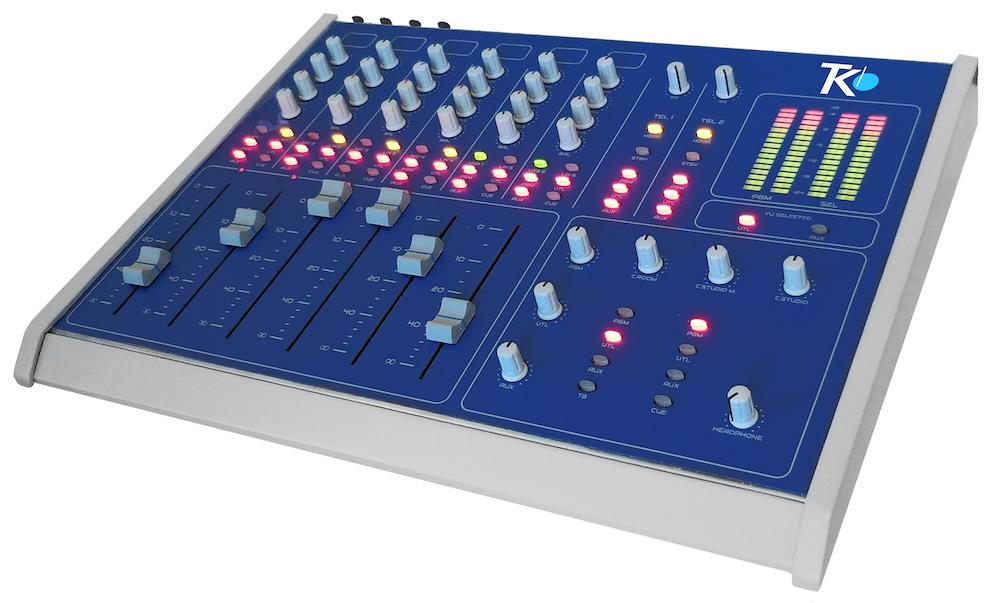 bsm consola mezclador de audio teko broadcast