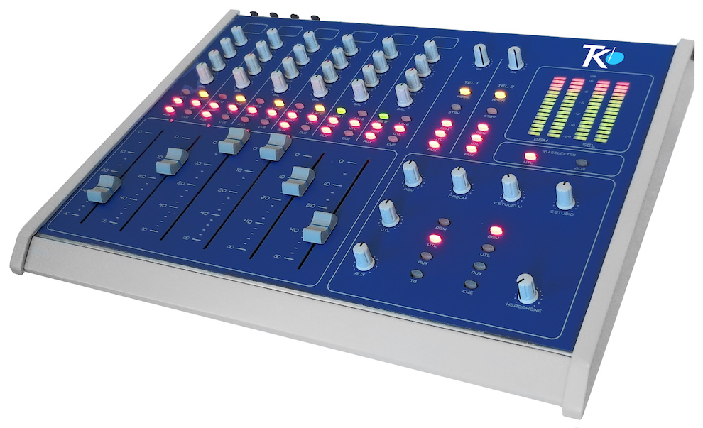 Mixer audio broadcast