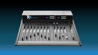 consola mezclador de audio m16 teko broadcast miniature