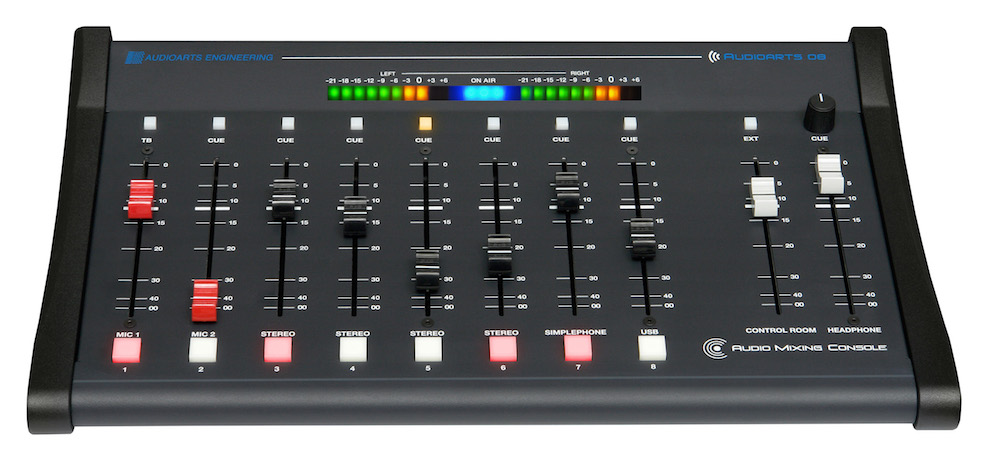 Table de mixage audio-Audioarts-08-8-Ch.WHEATSTONE USA leader des équipements de Studio Radio-Distributeur Officiel TEKO Broadcast-✆✉Contactez-nous!