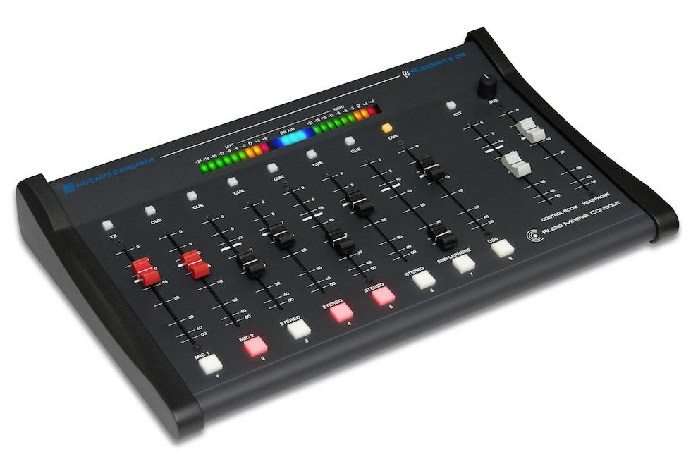 Audio Mixer Console AUDIOARTS 8 channels WHEATSTONE American leader ln Studio Equipment-Distributed by TEKO: Italian leader on FM transmitters-✆✉Ship worldwide!