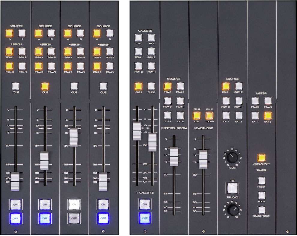 Audio Mixer Console AUDIOARTS LIGHTNING WHEATSTONE American leader ln Studio Equipment-Distributed by TEKO Italian leader on FM transmitters-✆✉Discover Now!