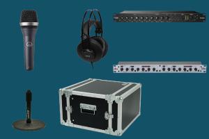 drive in radio studio packege - teko broadcast