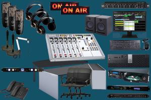 On air radio studio package ELITE 40K-teko broadcast