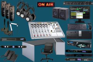 Production radio studio package ELITE 33K-teko broadcast