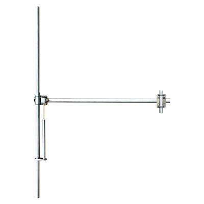 FM Antenna Aluminium-Wideband 88-108 Mhz, dipole vertical polaritation, max input power 800W, input connector N female, Brackets included - Gain 2dBd