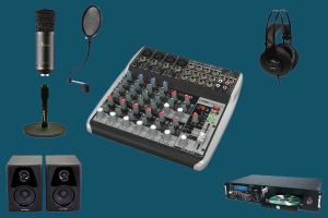on air 1k behringer - radio studio package - teko broadcast