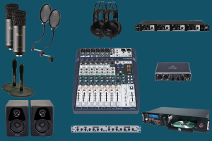 on air 2K soundcraft - radio studio package - teko broadcast
