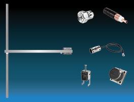 paquet 1 baie dipôle fm antenne et accessoires large bande inoxydable max puissance 2500w