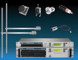 paquet 2kw émetteur fm avec 2 baie dipôle fm antennes y accessoires large bande inoxydable miniature