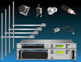 Paquet 2kW Émetteur FM Accessoires et Système d'antenne à 4 baies