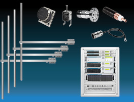 paquet 4kw émetteur fm avec 4 baie dipôle fm antennes y accessoires large bande inoxydable miniature
