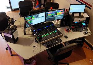 paquetes de estudio radio en directo