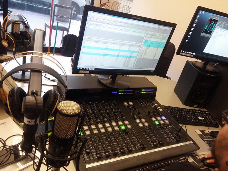 radio studio paquets studio basique