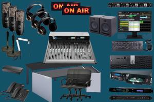 Complete FM radio studio packages