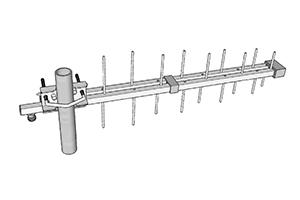 stl antenne pour liaison faisceau log 790 960Mhz miniature